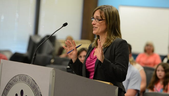 Salem-Keizer School Board members named Christy Perry as the district's new superintendent on Tuesday, May 13, 2014.
