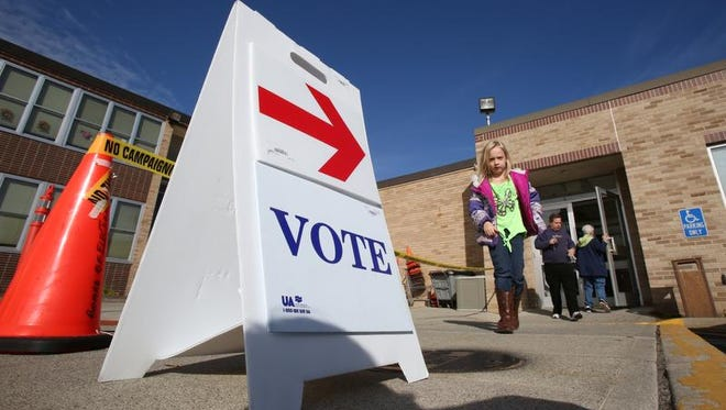 Village elections will be held Tuesday in Rockland.