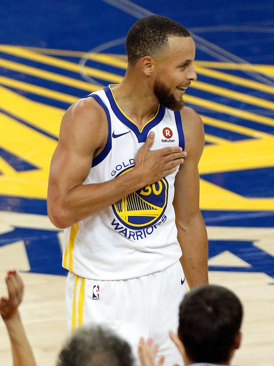 e74665494ed6 Warriors survive thrilling Game 1 after J.R. Smith s blunder