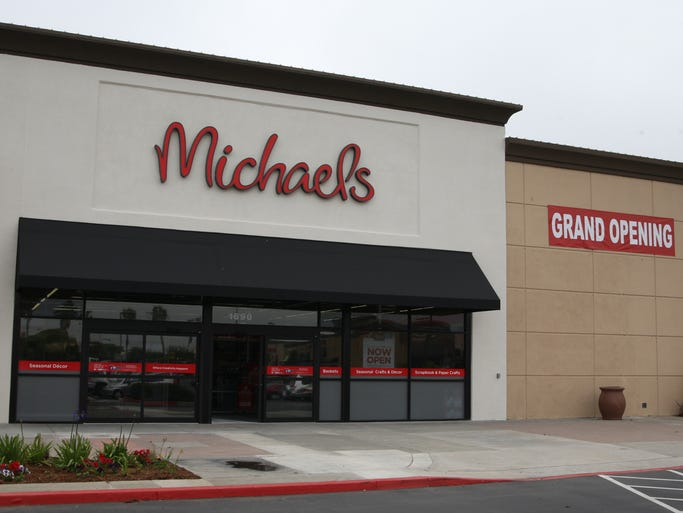 Grand Opening of Michaels Arts & Crafts in new location, 1690 N. Main Street, Salinas