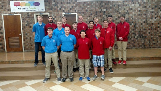 The Lenape Valley golf team received a New Jersey Golf