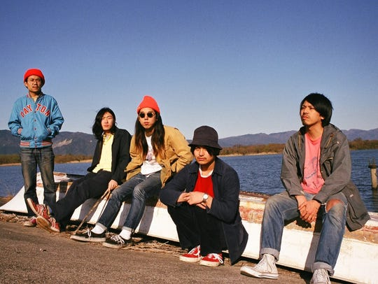 Never Young Beach, a rock band from Japan