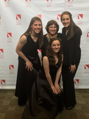 Six Milford High School students were chosen to perform at the Michigan Youth Arts Festival, an annual festival in Michigan where high school students participate in showcases, concerts and workshops in several disciplines including Vocal Music & Theatre.