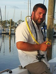 Iraq war veteran Chris Williams owns and operates Jolly Roger Diving Charters out of Pensacola and offers a unique diving experience in the winter months.