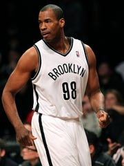Jason Collins, shown here with the Brooklyn Nets in