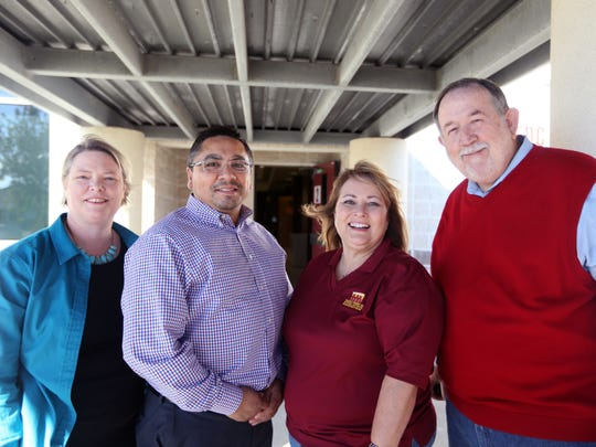 Michelle Flower (from left), Jeff Garcia, Donna Lamontagne and Todd Sumner