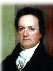 DeWitt Clinton, former governor and U.S. senator from New York, and the namesake for the Iowa towns of Clinton and DeWitt.