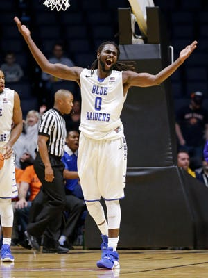 Middle Tennessee forward Darnell Harris.