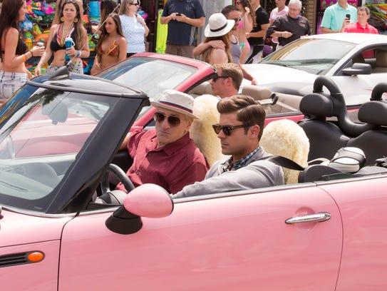 Zac Efron (right) and Robert De Niro in 'Dirty Grandpa.'