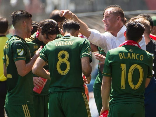MLS: Seattle Sounders at Portland Timbers