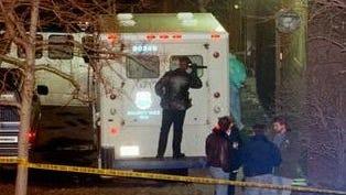 Police investigate Brinks robbery.