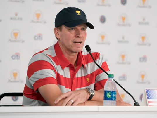 PGA: The Presidents Cup-Practice Day 2