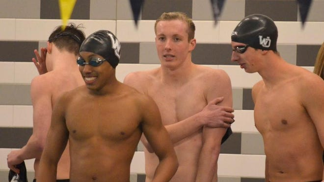 The West Ottawa boys swim team looked poised for a repeat state title.