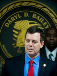 Montgomery County District Attorney Daryl Bailey announces