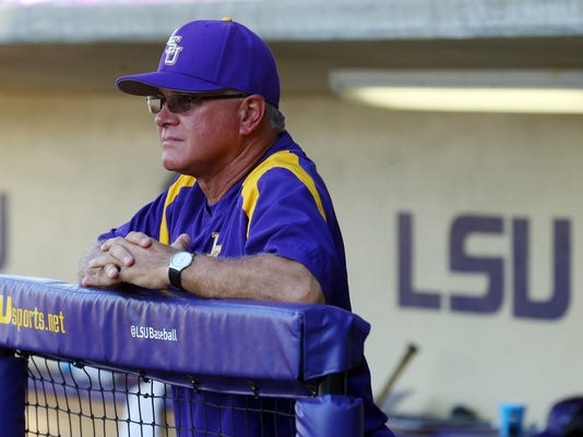 NCAA Baseball: Baton Rouge Super Regional-Oklahoma at Louisiana State