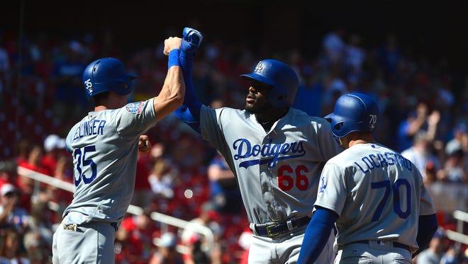 Sept. 15: Yasiel Puig, Dodgers, 3 vs. Cardinals.