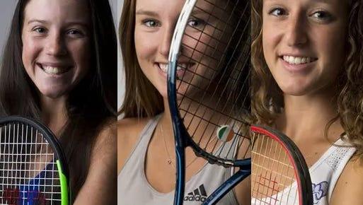 All-area-girls tennis 2018