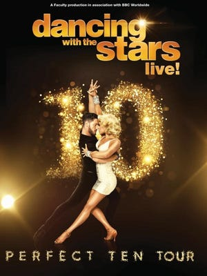 Dancing with the Stars: Live! celebrates the TV show's 10th year.