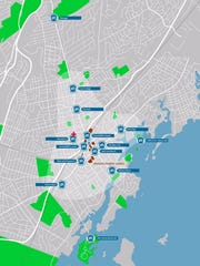New Rochelle Bike Share, developed by P3GM, released an updated preliminary map of 13 stations, which now includes Wykagyl and Glen Island Park.