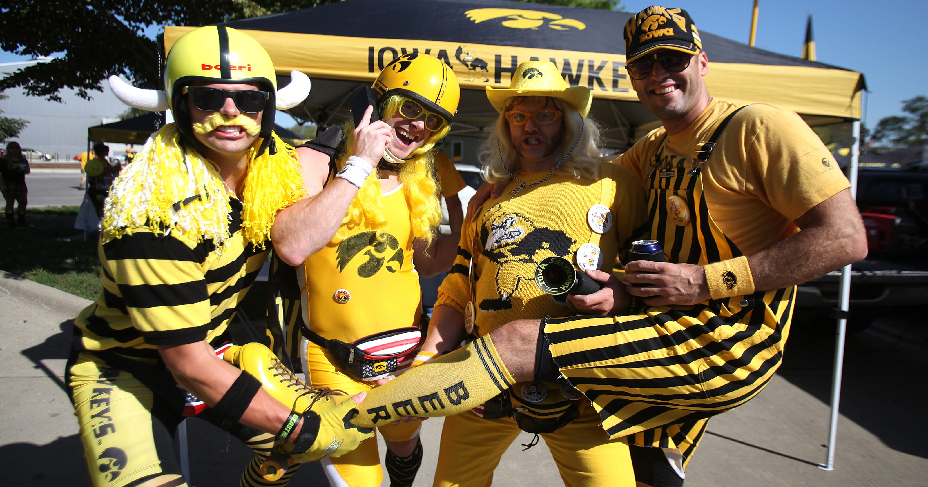 5b9a42314ae Iowa football game day  Tailgating
