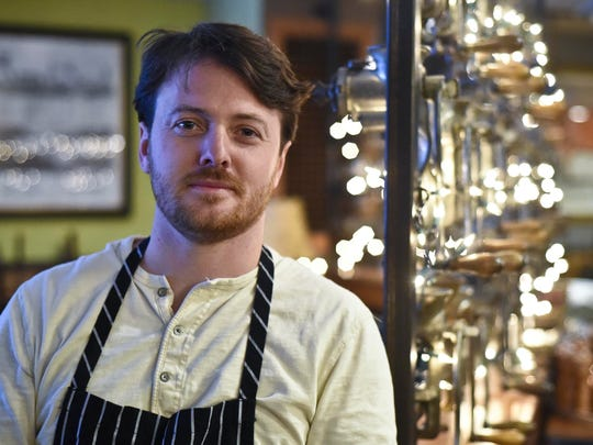 Phil Clayton, executive chef for the Farmhouse Group, seen at Guild Tavern in South Burlington. Clayton says his favorite Christmas leftovers are made with remains of his mother's Polish food dinner.