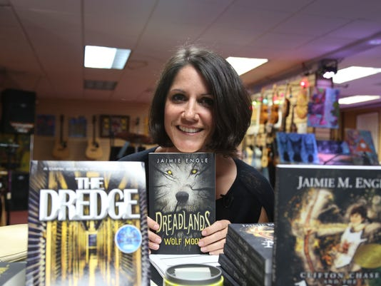 Brevard author Jaimie Engle