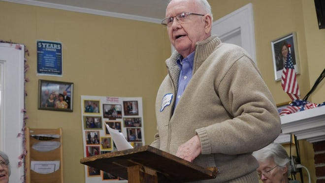 Paul M. Donahue, a 21-year resident of Henderson County and the former chairman of the county Democratic Party, has passed away.