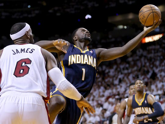 Lance Stephenson's demeanor and performance left fans thrilled and exasperated, sometimes one play after the other.