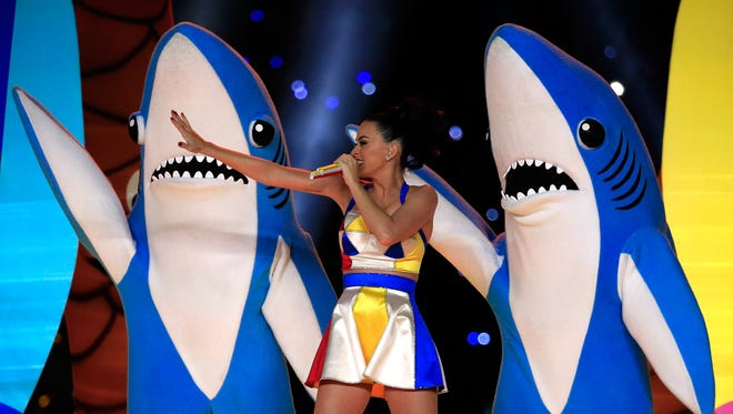 Left Shark stole the Super Bowl halftime show from Kary Perry.