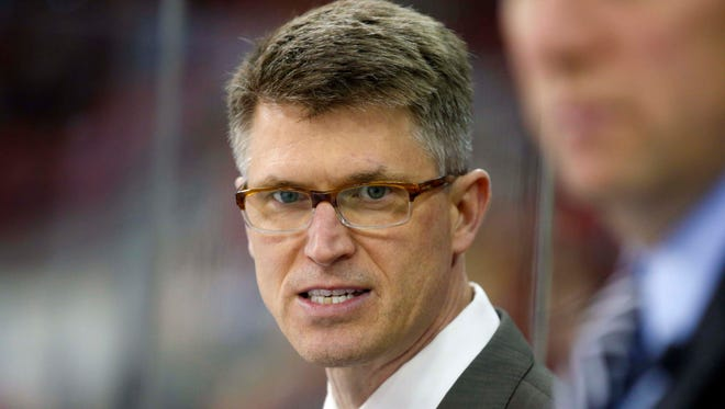 The Arizona Coyotes have hired Ron Rolston as the head coach of the Springfield Falcons, the Coyotes AHL affiliate.