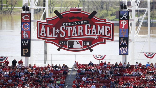 The 2015 All-Star Game will be hosted by the Cincinnati Reds at Great American Ball Park