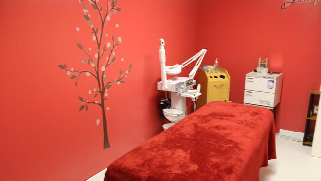 Mystic Garden Spa offers body treatments, facials, waxes and deep tissue massages.