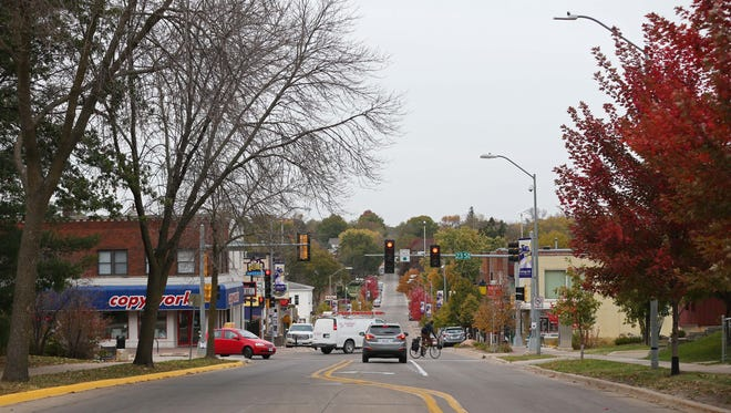 The College Hill neighborhood on the edge of the University of Northern Iowa campus on Wednesday, Oct. 21, 2015 in Cedar Falls. A man was shot to death in the area on Saturday, Nov. 11, 2017.