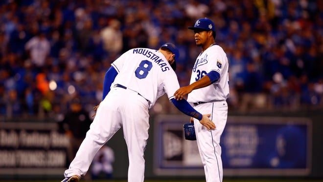 Mike Moustakas and Edinson Volquez have eached lost a family member this past twwo months.