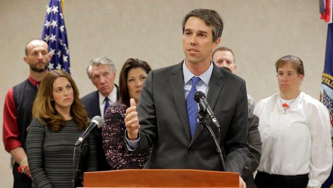U.S. Rep. Beto O'Rourke, D-El Paso.