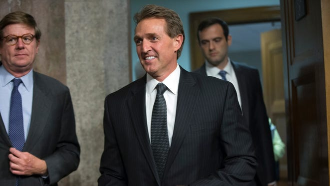 Sen. Jeff Flake is calling for a vote on President Obama's nominee to be ambassador to Mexico. Sen. Marco Rubio, R-Fla., is blocking the vote.