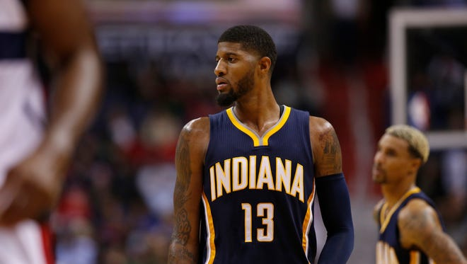 Pacers forward Paul George is the reigning Eastern Conference Player of the Week.