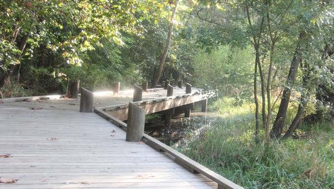 Trails and buildings at the Springfield Conservation Nature Center  - and 33 other conservation areas -will be mapped by low-flying plane in coming months.
