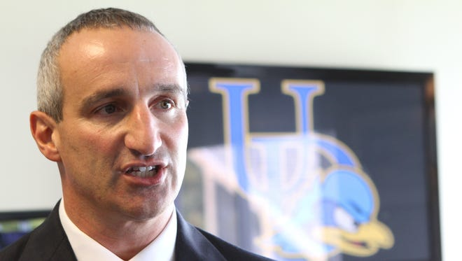 Eric Ziady was announced as the University of Delaware's new Director of Intercollegiate Athletics and Recreation Services in October of 2012.