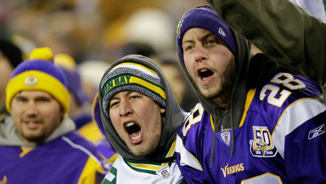 Data compiled by Press-Gazette Media show that Packers games against the Vikings can produce large numbers of arrests and ejections.