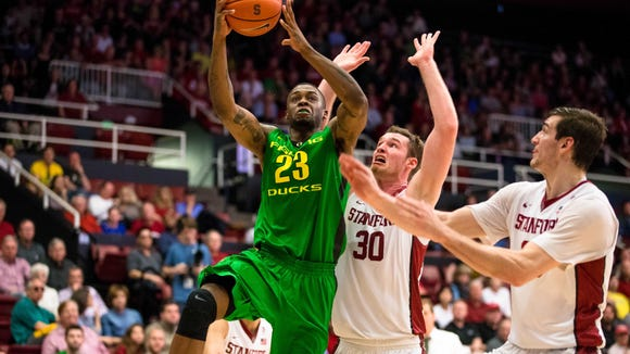 Elgin Cook has helped the Ducks reach the NCAA tournament in 2014, 2015 and 2016.