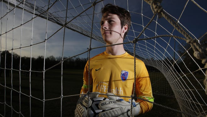 Lincoln goalie Eli Lasley is the 2016 All-Big Bend Player of the Year for boys soccer after a senior season with 130 saves, 10 shutouts and a goals against average of 1.07 on the area's best team.