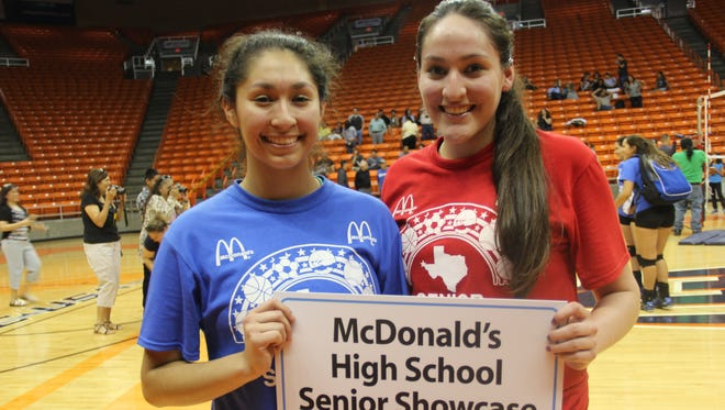 Alejandra Colorado, left, and Grecia Diaz