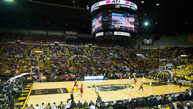 UW-Milwaukee plays its home games at UWM Panther Arena.