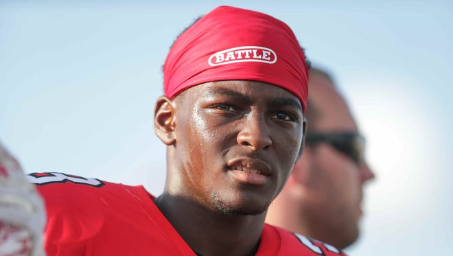 Center Grove's Russ Yeast is having little trouble adjusting to Indiana high school football.