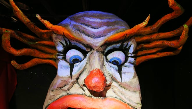 Scary clowns were a big part of 'The Creepy Carnival,' the Indianapolis Children's Museum Guild's 2014 haunted house.