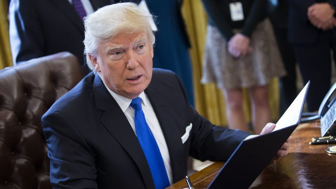 President Trump will begin rolling out executive actions on immigration Wednesday.