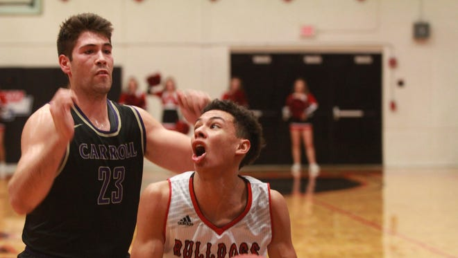 Zaccheus Darko-Kelly of Montana Western (right), was named NAIA Player of the Week.