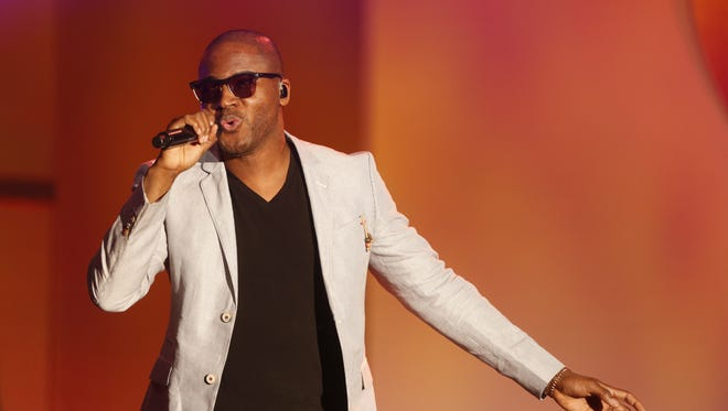 """Taio Cruz performs at the 20th Annual Race to Erase MS Event """"Love to Erase MS"""" at the Hyatt Regency Century Plaza on Friday, May 3, 2013 in Los Angeles. (Photo by Todd Williamson/Invision/AP)"""
