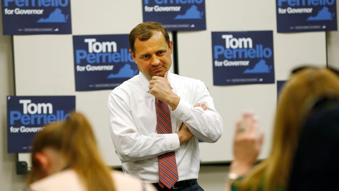 Tom Perriello, a Democratic former House member, is running for governor of Virginia.